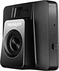 "PAPAGO GS118-8G GoSafe 118 HD Mini Dash Cam - Car DVR Dashboard Camera Video Recorder with Free 8GB Micro SD Card, Driver Assistance Features, G-Sensor, Parking Monitor, 2"" Screen (Black)"