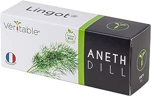 Véritable Lingot® Aneto BIO - Compatibile con Orti Interni Exky® - Ricarica pronta all'Uso - Substrato con Semi Integrati