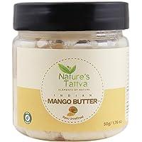 Nature's Tattva Unprocessed and Unrefined Raw Mango Butter, 50g