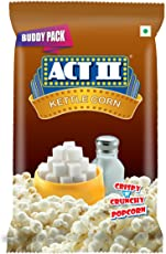 Act II Ready to Eat Kettle Corn, 40g (Buy 1 Get 1 Free)