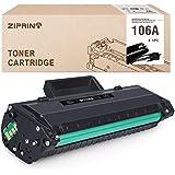 ZIPRINT 106A (Con chip) Compatible con HP 106A W1106A Toner per HP laser MFP 135a MFP 135r MFP 135w MFP 137fnw HP laser MFP 1