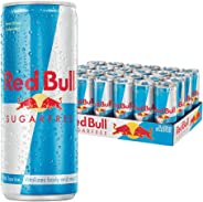 Red Bull Sugar Free Energy Drink - 250 ml (Pack of 24)