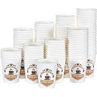 YNS 400 Espresso Gobelets en Carton écologique et jetable, 4 Oz résistant à la Chaleur pour la Boisson Chaude et Froide…