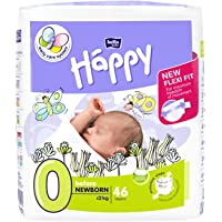 Bella Baby Happy Diapers Before Newborn White, 46 Piece