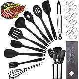 Viesap Keukengerei Set, Food Grade Volledige Siliconen Keukengerei, 11 stks Siliconen Koken Gereedschap Voor Koken Bakken, Hi