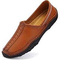 VTASQ Mocassini Uomo Pelle Estivi Casual Eleganti Slip On Scarpe Comfort da Guida Scarpe da Barca Classic Loafers