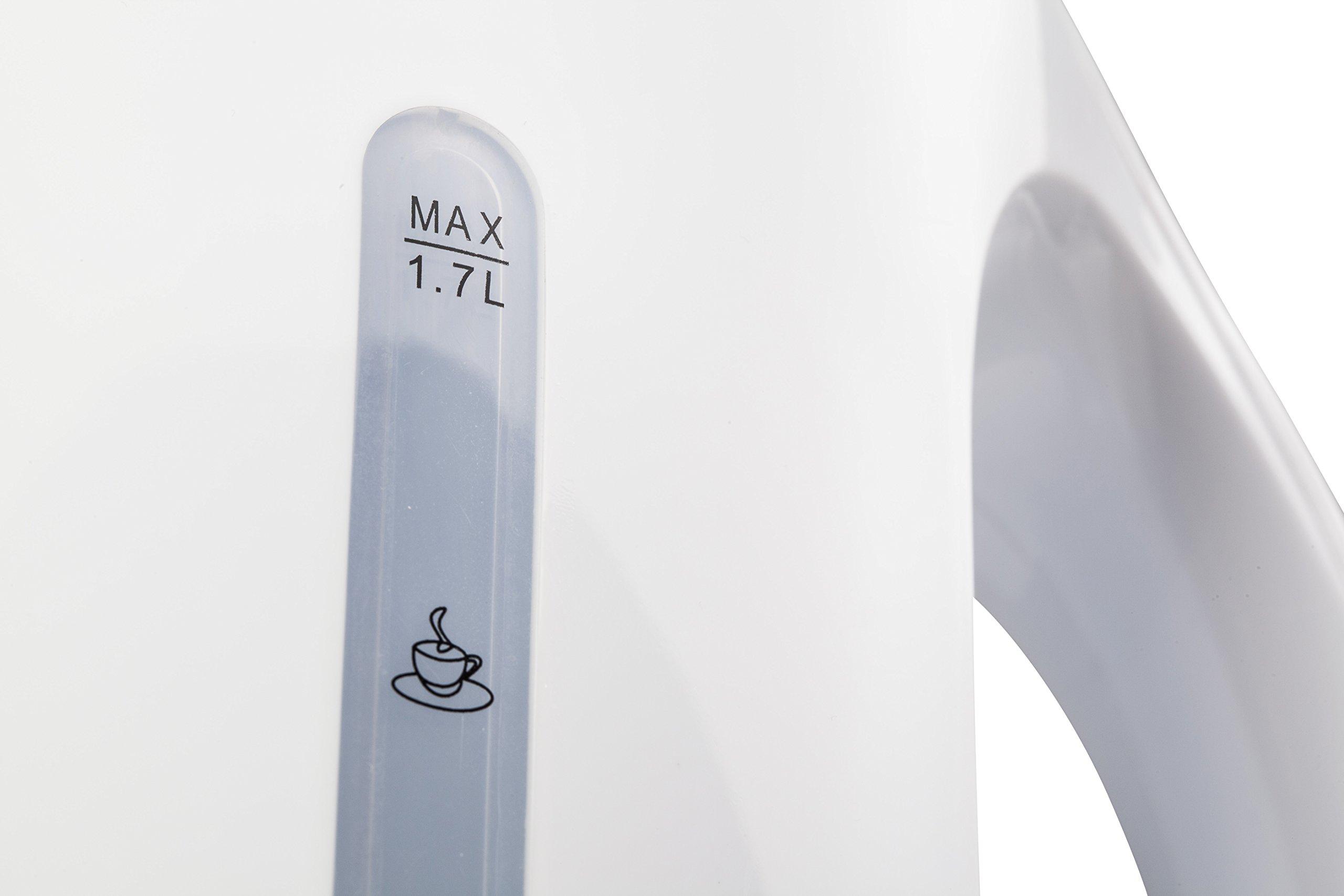 Tivoli-Wasserkocher-17-L-Kabelloser-Wasserkocher-2200-Watt-Flaches-Heizelement-Farbe-Wei-Abschaltautomatik-Trockengehschutz