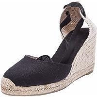 SimpleC Heel Eppers Classic Heel Climbing da Donna con Tallone, Intersuola Naturale alla Caviglia