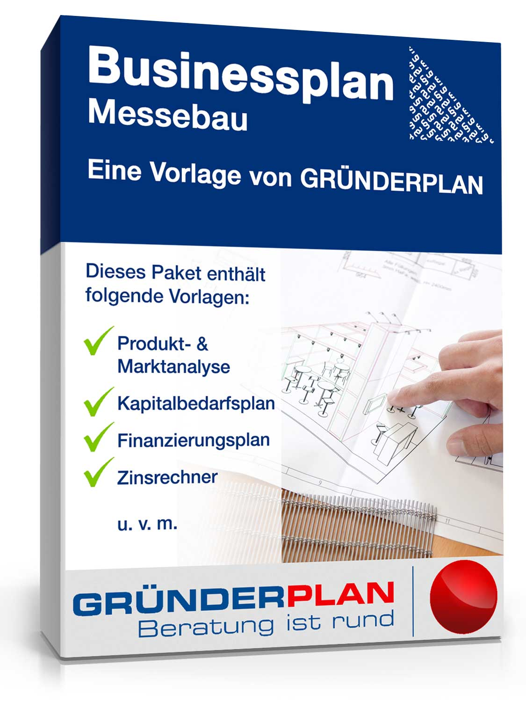 Businessplan Messebau von Gründerplan [Zip Ordner]