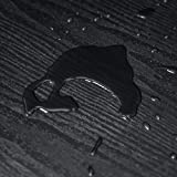 Czarny Drewno Tapeta Samoprzylepna Płyta Winylowa Folia Wodoodporny do ścian Drzwi Okien (30X200cm)