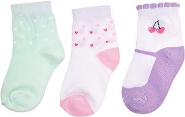 Footprints Super soft Organic cotton socks- Pack of 3 - Strawberry Trio