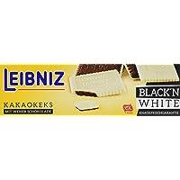 Leibniz Choco Black'n White 125 g — Kakao-Keks mit weißer Schokolade — Schokokekse in der Faltschachtel — Kakaokekse mit…