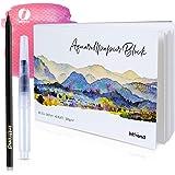INT!REND Papel de acuarela A5 | Cuaderno para acuarelas, 40 hojas, 300 g, blanco papel acuarela | Watercolor paper, cuaderno