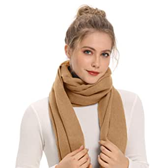 Solid Color Extra Large Style by Wheebo Cashmere Pashmina Shawls Wraps Winter Blanket Scarf Stole for Women Lady Girls