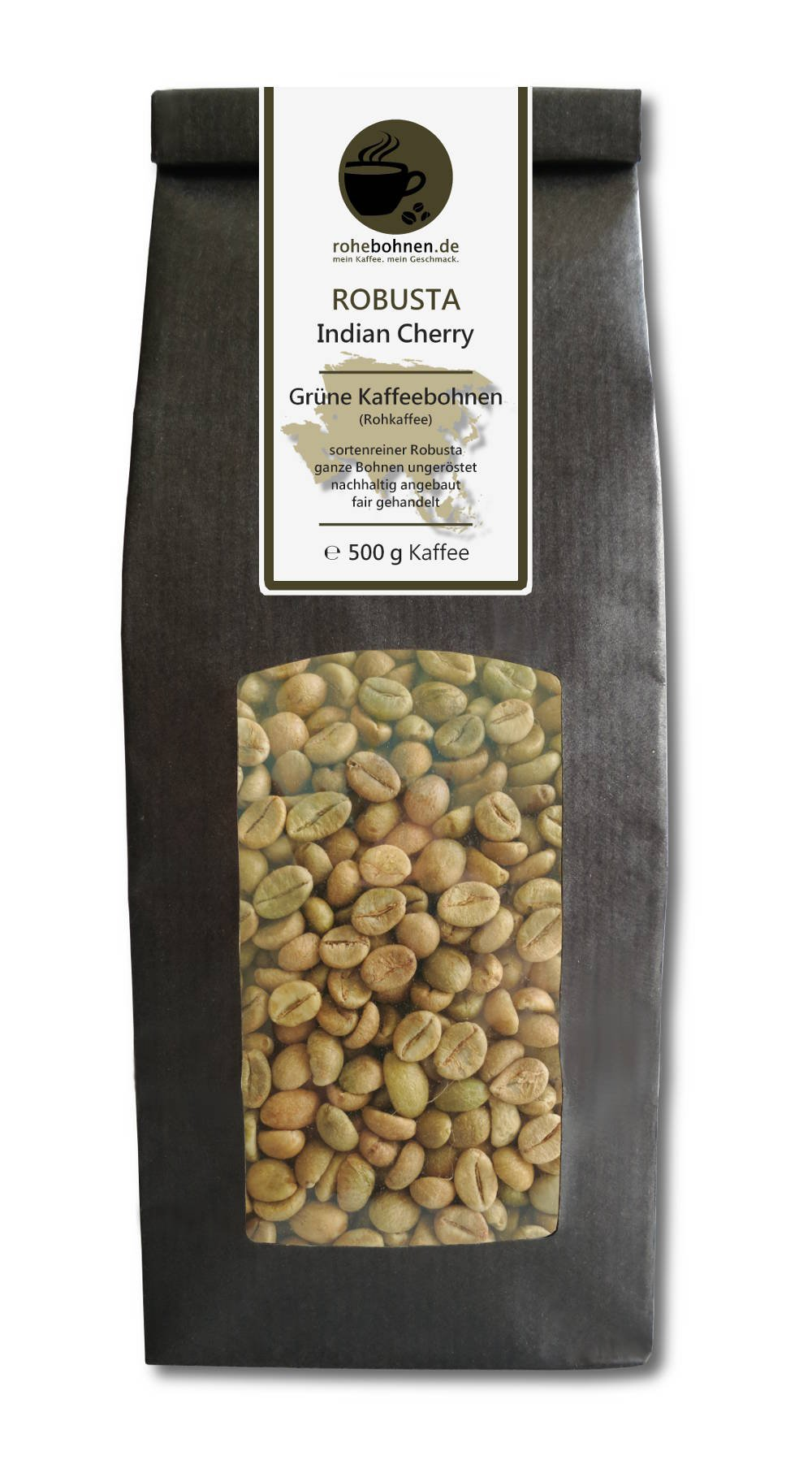 Green-coffee-beans-Robusta-Indian-Cherry-raw-coffee-beans