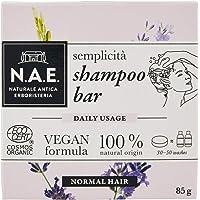 N.A.E. Shampoo Solido Semplicità, Shampoo Bar Ecologico e Vegano per Capelli Normali, con Estratti di Lavanda Biologici…