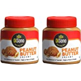 DiSano Peanut Butter, Creamy, 25% Protein with Vitamins & Minerals, 350g (2 x 350g)