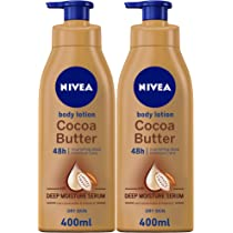 Nivea Cocoa Butter Body Lotion Vitamin E Dry Skin 2 X 400 Ml Buy Online At Best Price In Uae Amazon Ae