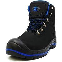 K•SHOES - Chaussure de sécurité bottes de sécurité en cuir travail antidérapante embout acier semelle anti-perforation…