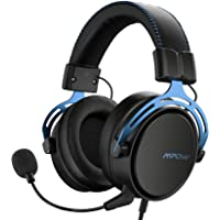 Mpow Air SE Cuffie Gaming 3,5 mm per PS4, PS5,Xbox One, PC, Switch Cuffie over-ear con audio surround con microfono con…