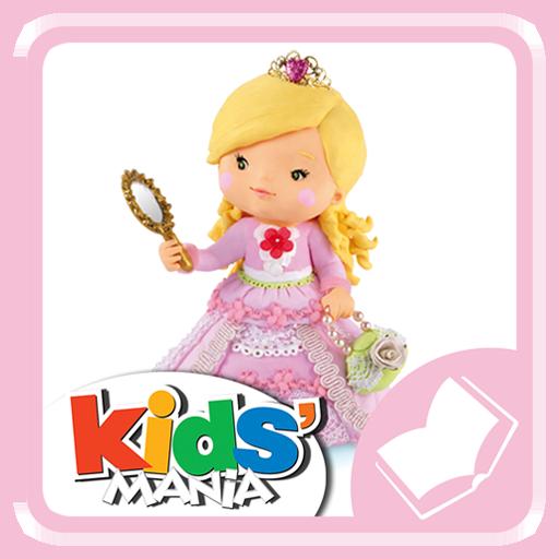 P'tite Fille - Rose joue à la princesse