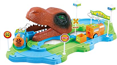 Webby S48 Dinosaur Track Train Set