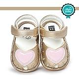 Chaussures Bébé, Morbuy Eté Sandales de Marche Princesse Bébé Filles Pour 0-18 mois bébé Unisexe Anti-Dérapant Doux Unique To
