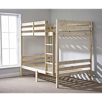 Double Bunkbed 4ft 6 Twin Bunk Bed Very Strong Bunk Heavy