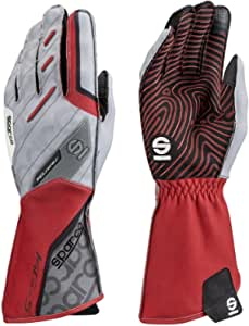 Sparco 00255208rs Bewegung Handschuhe Kg 5 Tg 08 Red Rot Auto