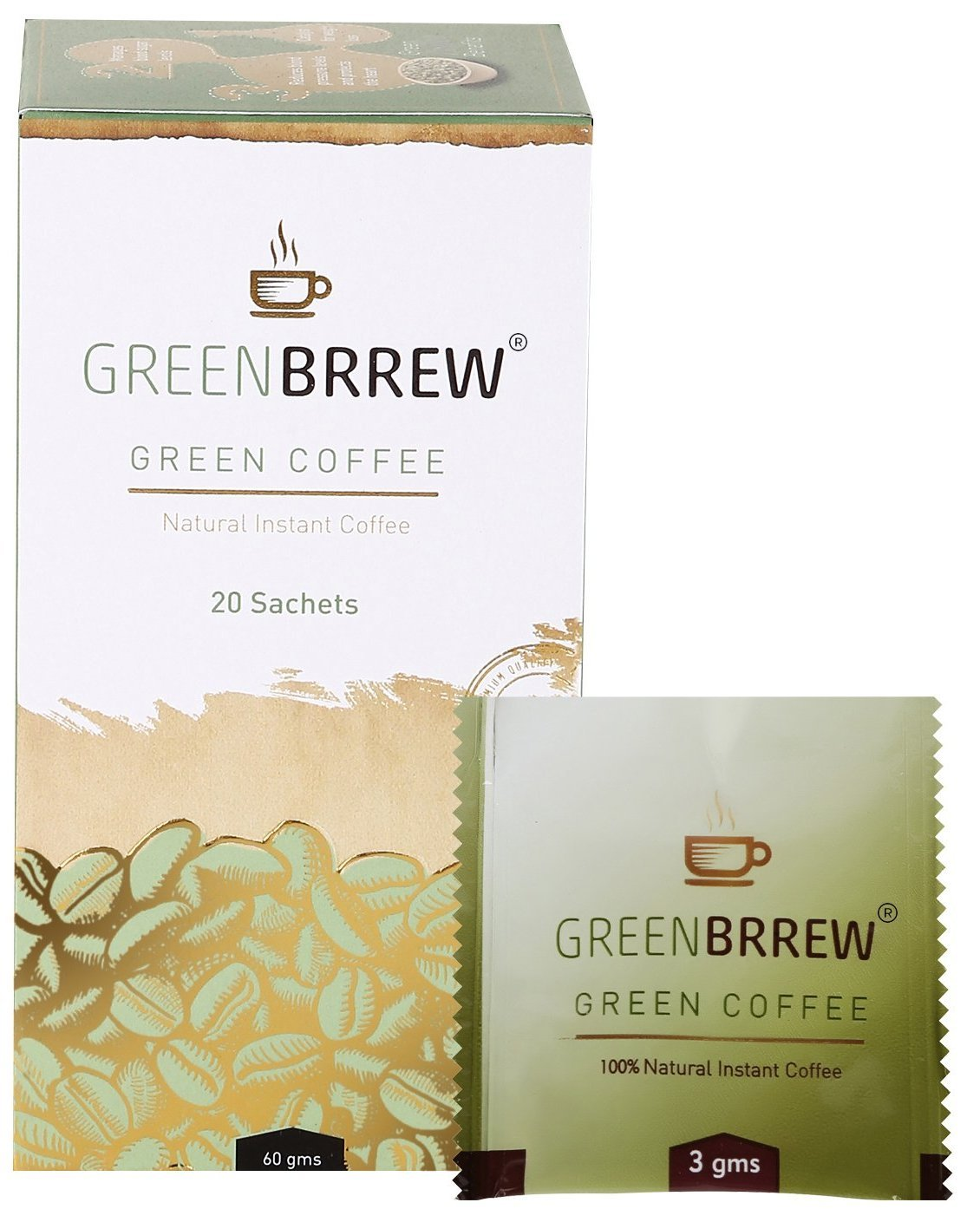 Greenbrrew Instant Green Coffee Premix For Weight Management