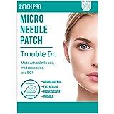 PATCH PRO Trouble Dr. Microneedle Patch 9pcs Puistjes, acne, onzuiverheden Patch om huidgenezing te stimuleren met Salicylzuu