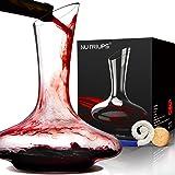 Wijnkaraf Crystalex Karaf voor Rode Wijn Handgeblazen Loodvrij Rode Wijn Beluchter Wijnontluchter Karaf & Karaf Reinigingsbor
