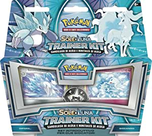 Pokemon Sole e Luna Trainer Kit Alolan Sandslash & Alolan Ninetales pezzo singolo (IT)