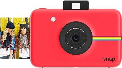 Polaroid Fotocamera Digitale a scatto istantaneo (Rosso) con Tecnologia di Stampa a Zero Inchiostro ZINK