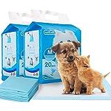 Nobleza Empapadores Perros Alfombrilla higiénica de Entrenamiento para Perros. Ultraabsorbente 60cm*60cm, 40pcs