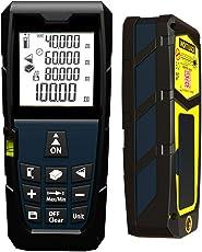 Laser Distance Meter (0.2 mm - 80 meter) | Precise & Portable Laser Tape Measurer for Home & Outdoor, Measure Length/Area/Volume