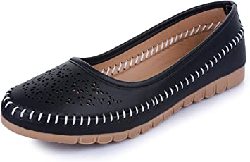 Midsole Women's Casual Ballerinas with Cut-Outs- (FT826C)