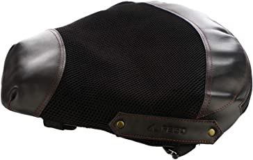 FEGO Float No Back Pain on Bikes, Air Suspension Seat Add-on (Black)