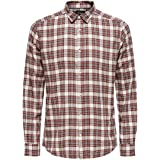 Only & Sons Men's Onsnew Omar Ls Y/D Checked Shirt