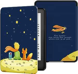 Ayotu Custodia in Pelle PU per Kindle 2019 - Case Cover con Sonno/Sveglia la Funzione Compatibile con Amazon Nuovo Kindle (10ª Generazione - Modello 2019),Il Ragazzo e la Volpe