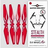 Master Airscrew Mas Upgrade śmigła do DJI Mavic AIR w kolorze czerwonym - x4 w zestawie