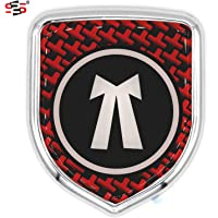 S2S 3D Chrome Sticker Emblem Badge Logo For Cars & Bikes (Advocate)