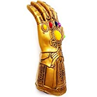 House Of Queens PVC Thanos gauntlet button battery operated flexible electronic fist halloween cosplay props…