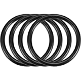 sourcingmap 4Pcs Automobile 40mm OD 3.5mm Thickness Rubber O-Ring Oil Seal Gaskets