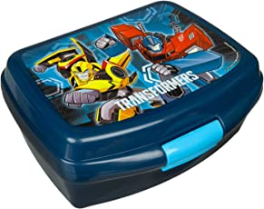 Brotzeitdose, Transformers, ca. 16,5 x 13 x 7 cm