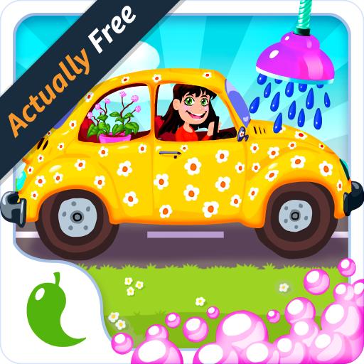 e For Girls – Cars washing beauty spa salon for little princesses (Mädchen Doktor Dress Up)