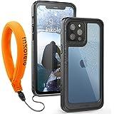 Funda Impermeable iPhone 12 Pro Max Protección Funda IP68 360-Grados Case Protectora Anti-golpes Anti-rasguños Carcasa con Co
