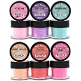 Mia Secret -Sweet Nail Acrylic Powder collection set of 6 by Mia Secret