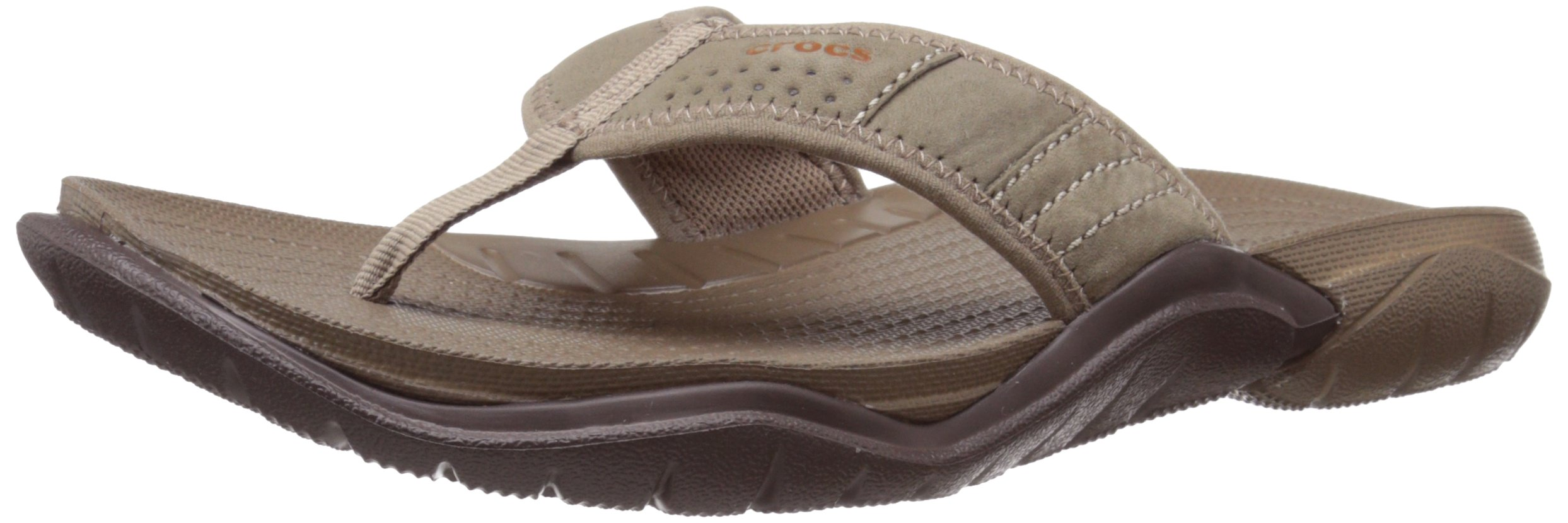 TG 4546 EU Marrone WalnutEspresso Crocs Swiftwater M Infradito Uomo Mar