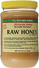 Y.S Eco Bee Farms Raw Honey USA Grade A.-22oz (623 gm)